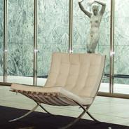8º CAFÉ Der Barcelona Sessel. La silla Barcelona de Mies van der Rohe