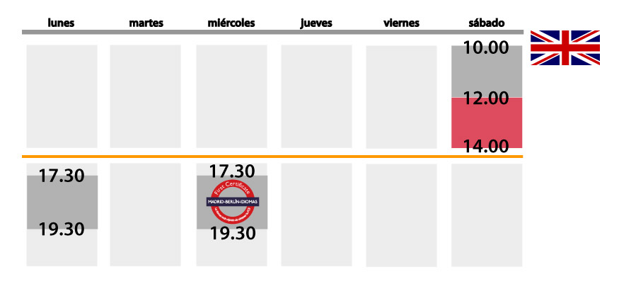 horario ingles jovenes nuevo noviembre2013